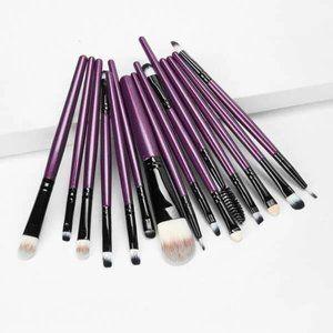 15 piece Makeup Brushes